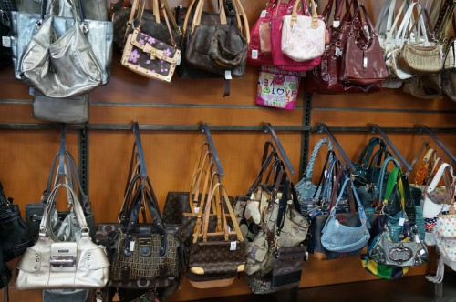 deja blue goodwill boutique handbags