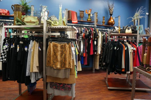 deja blue goodwill boutique interior