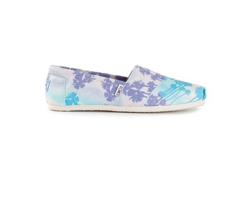 TOMS palm tree print espadrilles, $82.61 at farfetch.com