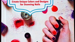 handmade nail polish book