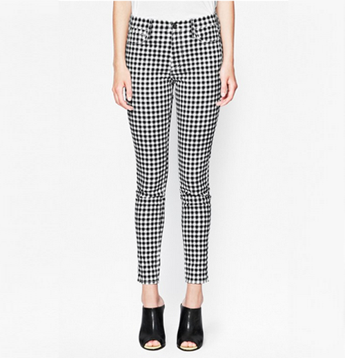 French Connection AW14 black and white pants