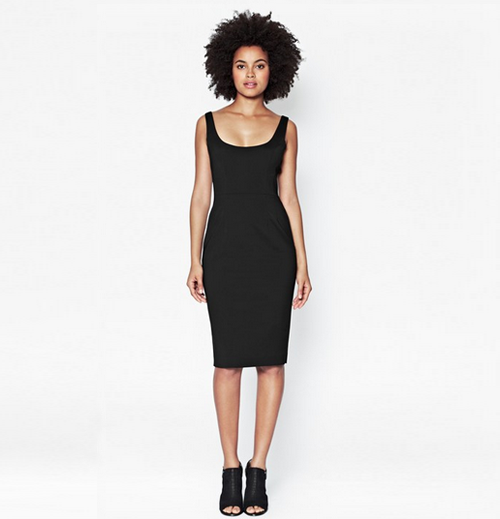 French Connection AW14 black dress 2