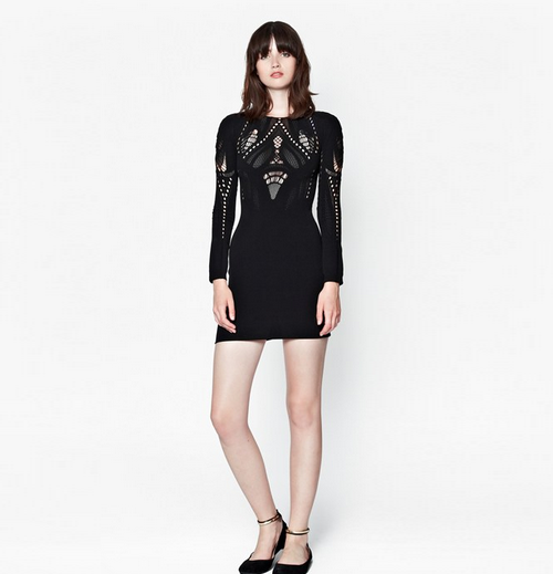 French Connection AW14 black dress