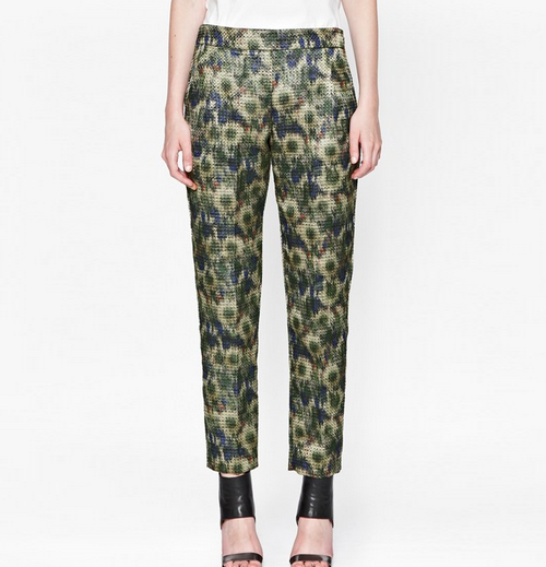 French Connection AW14 floral pants