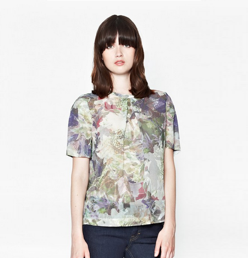 French Connection AW14 floral top 2
