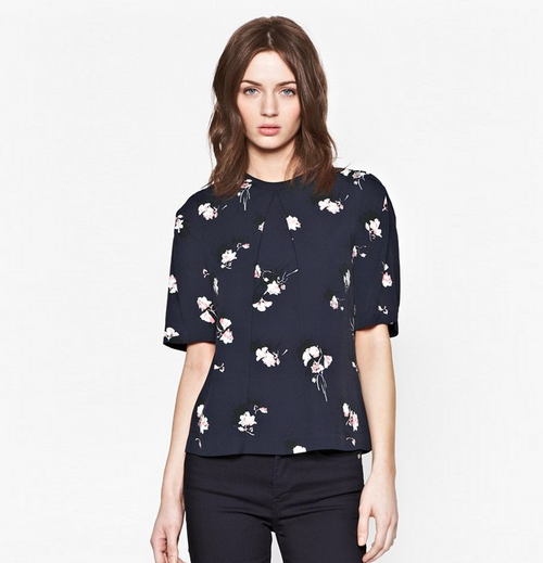 French Connection AW14 floral top