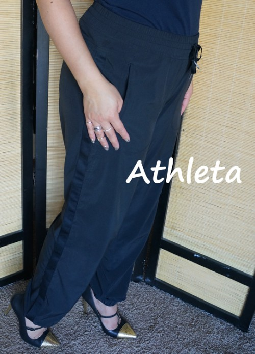 athleta track pants