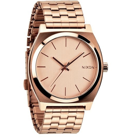 Nixon 'The Time Teller' Watch, $95