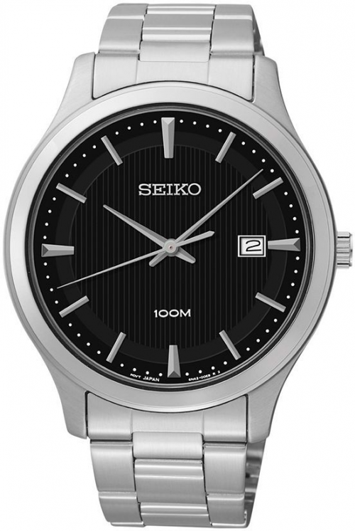 Seiko men's stainless steel watch, $99.