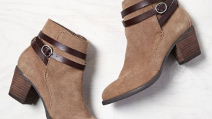 AEO Buckle Strap Booties