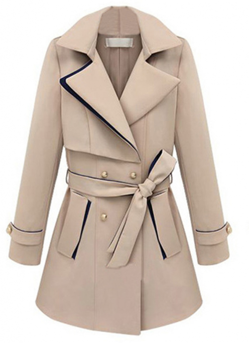 Double Breasted Trench Coat, $69 at Choies.com.