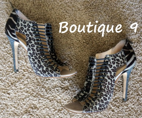 Boutique 9 shoes