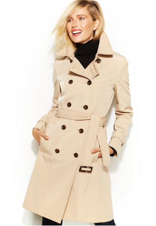 Calvin Klein Double Breasted Trench Coat, $99.98 at Macy's.