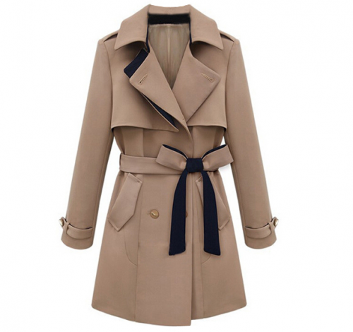 Slim Trench Coat, $66 at Romwe.com.