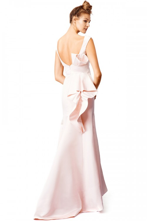 Lela Rose Catch the Wave Gown, $500 rental price (4-day rental)