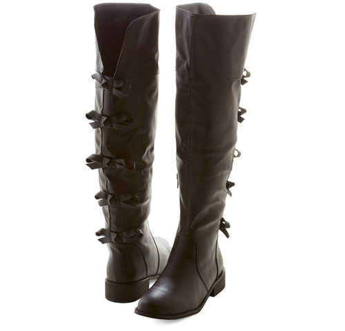 A Row of Bows Boot, $70