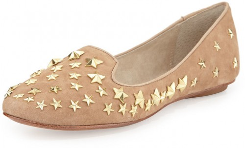 Ash Infinity Star Suede Slip-On, Chamois, $97.30