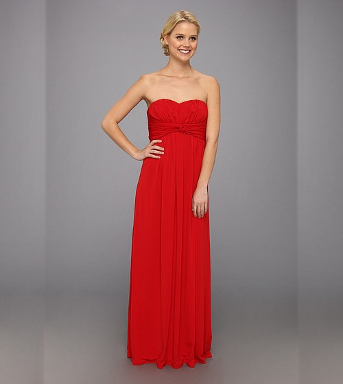 Jessica Simpson Twist Bust Maxi Gown, $60