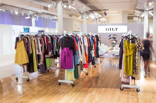 Gilt Warehouse Sale Interior Photo