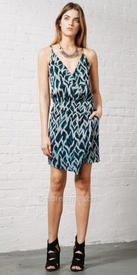 Greylin Walson Silk Dress, $136
