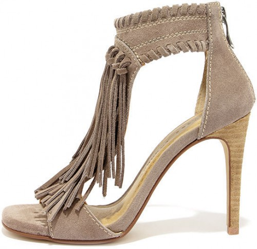 Chinese Laundry Santa Fe  Leather Fringe Sandal, $99