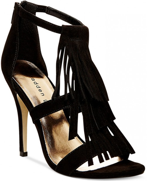 Madden Girl Demii Fringe Dress Sandals, $49