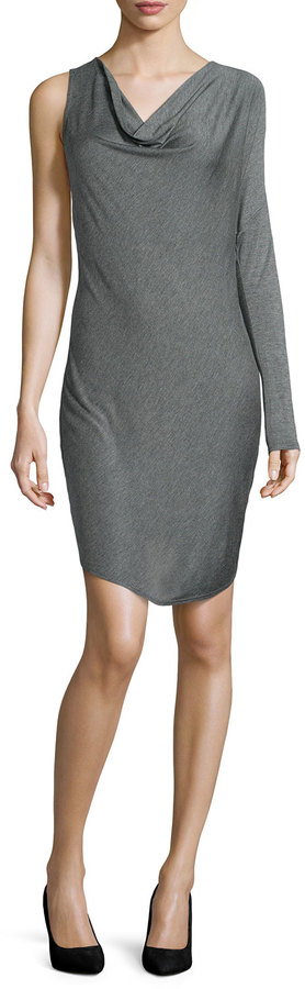 Haute Hippe Cowl Neck Dress on sale for $110, originally $245.