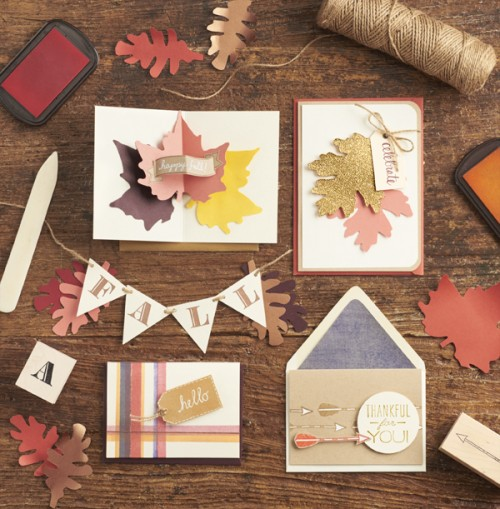 fall card workshop