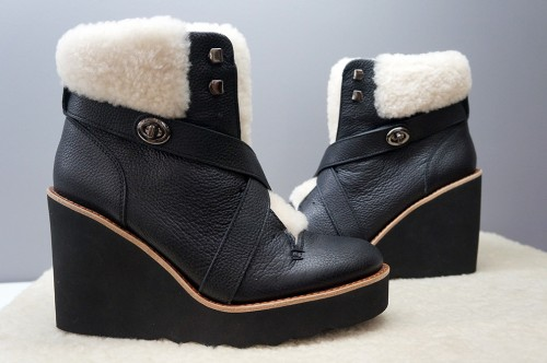 Coach limited edition boots