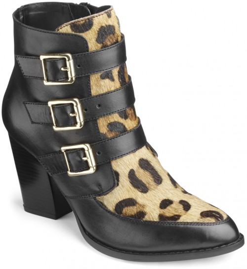Sole Diva Buckle Ankle Boots, $107.50