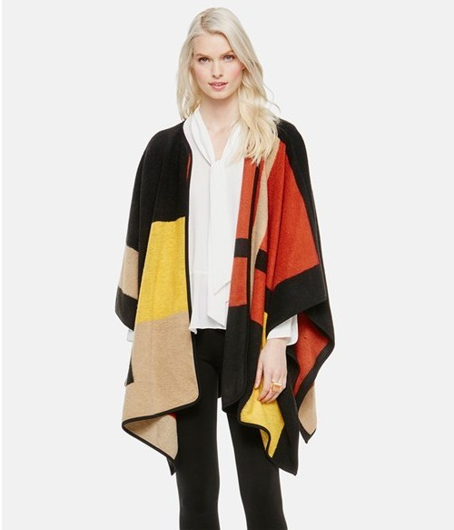 Vince Camuto Blanket Jacquard Poncho, $99.90