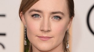 BEVERLY HILLS, CA - JANUARY 10:  Actress Saoirse Ronan attends the 73rd Annual Golden Globe Awards held at the Beverly Hilton Hotel on January 10, 2016 in Beverly Hills, California.  (Photo by Jason Merritt/Getty Images)
