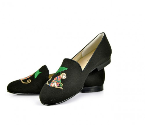 Gatsby Monkey Smoking Slippers, $85