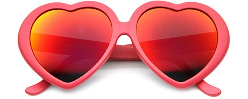 Heart shape sunglasses, $12
