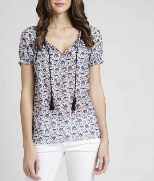 Masha Printed Top, $79