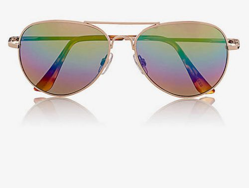 Rainbow Lens Aviators, $30 at Express