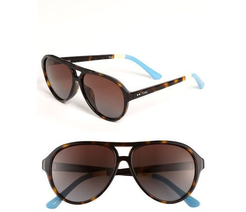 TOMS 'Marco' Aviator Sunglasses, $98 at Nordstrom