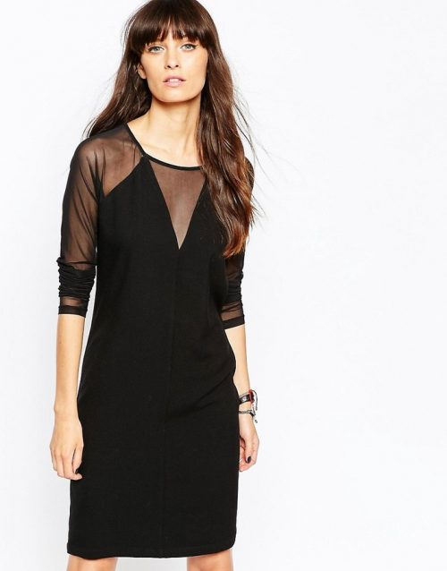 Just Female Sheer Insert Dress, $50