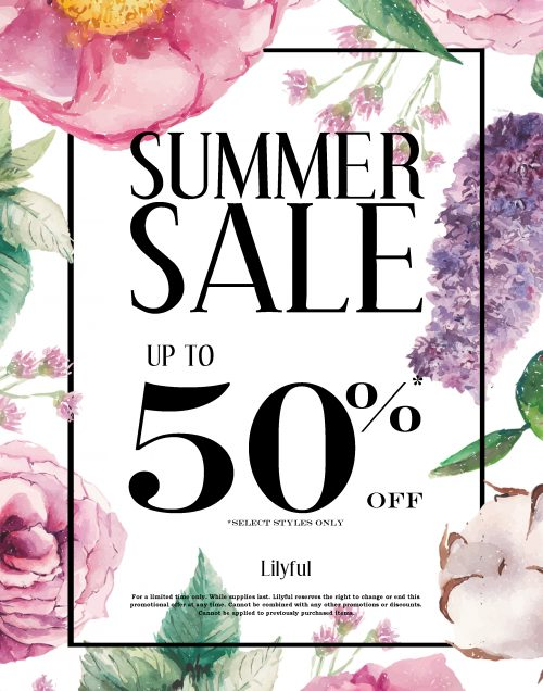Summer Sale Letter Sign