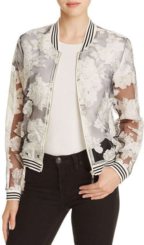 Lucy Paris Bomber Jacket, $88